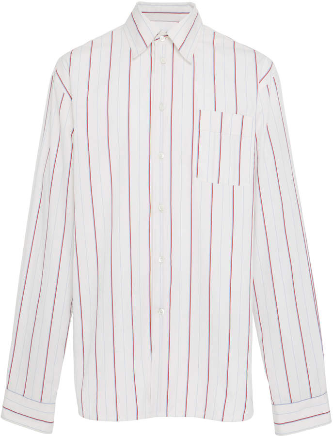 Marni Striped Button-Up Shirt