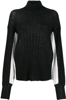 Maison Flaneur Colour Block Jumper