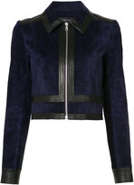 Derek Lam Fitted Zip Up Jacket