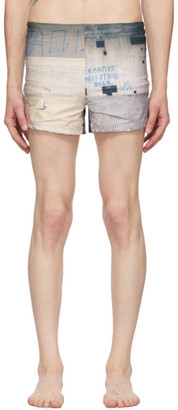 Serapis Multicolor Piraeus Tower Swim Shorts