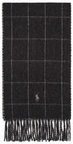 Polo Ralph Lauren Reversible Windowpane Scarf