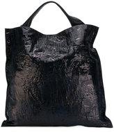 Jil Sander textured tote bag