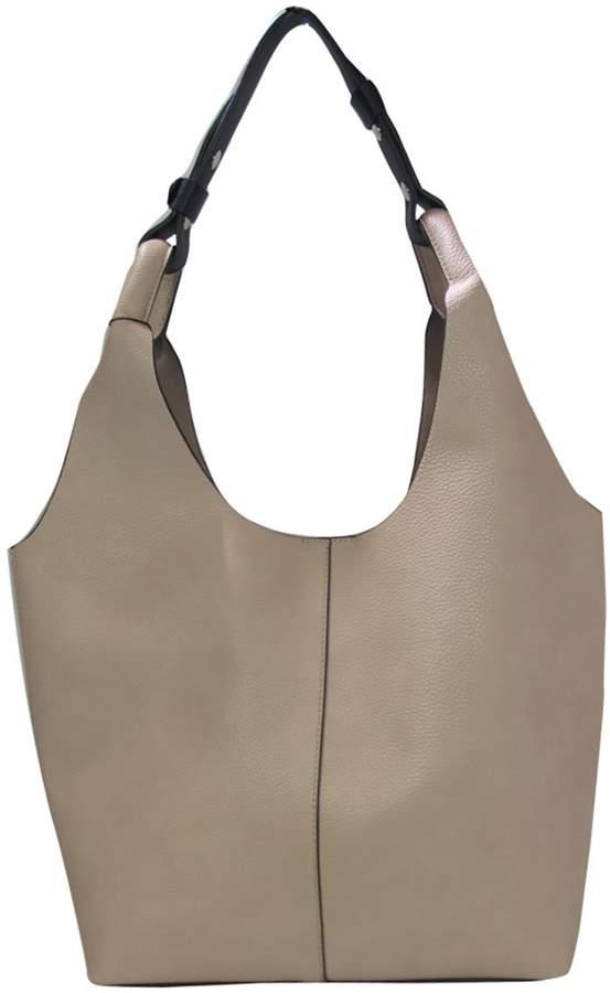 3a9fb22d027e Un Billion Un BIllion Addison Shoulder Bag in Solid Oak Vegan Leather