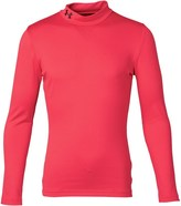 Under Armour Junior ColdGear Evo Fitted Long Sleeve Mock Top Red