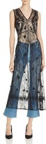 Alice + Olivia Ciel Lace Sleeveless Duster