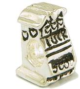 Olympia Old Las Vegas Slot Machine Bead Charm - Compatible with Pandora & Troll Bracelets