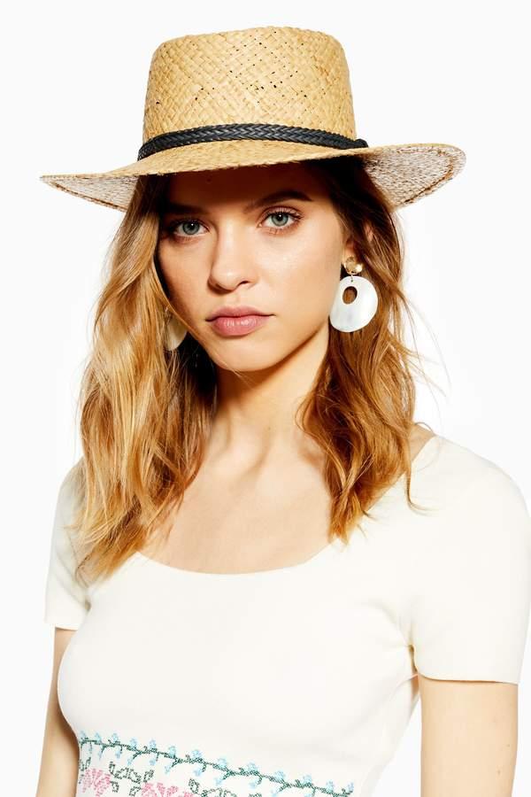 93ed58a0fa63d Flat Top Hat Women - ShopStyle