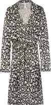Diane Von Furstenberg Jeanne Silk Wrap Dress