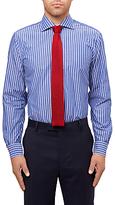 Jaeger Stripe Shirt, Navy