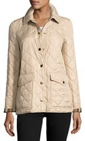 Burberry Westbridge Relaxed Quilted Jacket, Beige