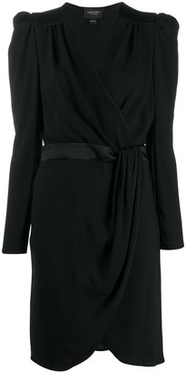 Giambattista Valli Mock Wrap Midi Dress