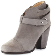 Rag & Bone Harrow Suede Ankle Boot, Granite