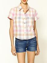 Dolce Vita Martine Plaid Multi Shirt