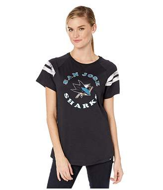 Fly London '47 NHL San Jose Sharks Cooper Flip Out Raglan Tee