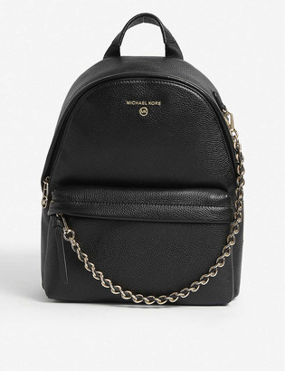 MICHAEL Michael Kors Slater pebbled-embossed leather backpack