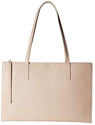 Shinola Detroit Accordion Tote (Soft Blush) Handbags