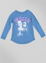 Junk Food Clothing Kids Girls Frozen Raglan-srf-l