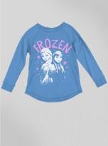 Junk Food Clothing Kids Girls Frozen Raglan-srf-s