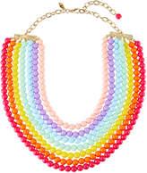 "Greenbeads Multi-Row Rainbow Necklace, 20""L"