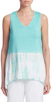 Context Two-Toned Tie Dye Tank