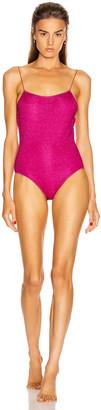 Oseree Maillot Swimsuit in Fuchsia | FWRD
