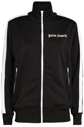 Palm Angels Striped Track Jacket