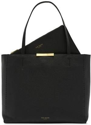 Ted Baker Womens Black Shopper Bag - Black