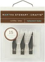 Martha Stewart Craft Knife Refill Blades 15/pkg For M281019 M281021