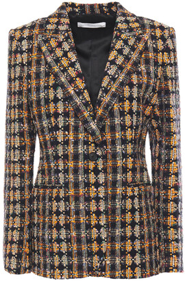Victoria Beckham Cotton-blend Tweed Blazer