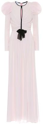 Giambattista Valli Silk-crepe gown