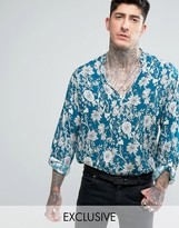 Reclaimed Vintage Inspired Overhead Shirt In Reg Fit