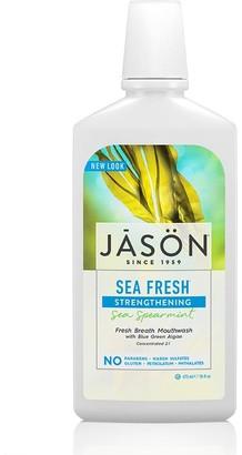 Jason Sea Fresh Strengthening All Natural Mouthwash 473Ml