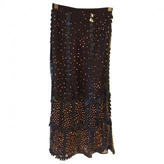 Ungaro brown/black Silk Skirts