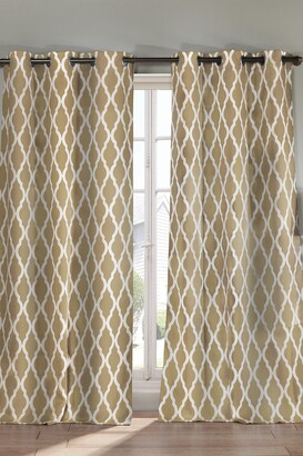 Duck River Textile Kittattinny Blackout Curtain - Set of 2 - Taupe