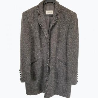 Basler Grey Wool Jacket for Women