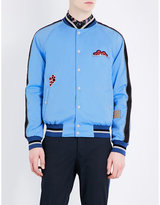 Lanvin Embroidered Satin Jacket