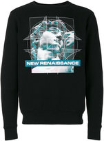 Marcelo Burlon County of Milan Kono printed sweatshirt - men - Cotton - XS