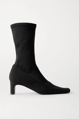 BEVZA Neoprene Sock Boots - Black