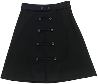 Diane von Furstenberg Black Wool Skirt for Women