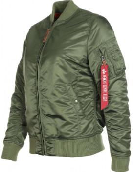 Alpha Industries Sage Green MA1 VF Women Jacket - l