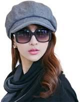 Ambysun Womens Visor Beret Newsboy Hat Ivy Cap