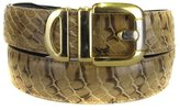 Buy Your Ties BLT-SNK-8- Mens - Python Skin Belt