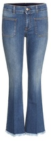 Stella McCartney Distressed flared jeans