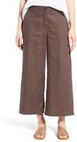 Eileen Fisher Women's Organic Linen Crop Pants