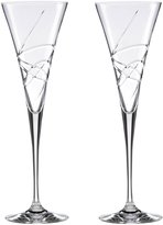 Lenox Adorn Toasting Flute Clear Set of 2