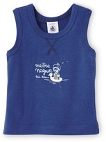 Petit Bateau Baby boy tank top with motif