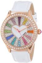 Betsey Johnson Women's BJ00131-15 Analog Crystal Set Dial Watch