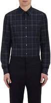 Theory Men's Sylvain Cotton Shirt-GREY, NAVY, DARK GREY