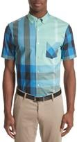 Burberry Men's Thornaby Trim Fit Check Sport Shirt