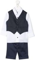 Colorichiari suit-style romper